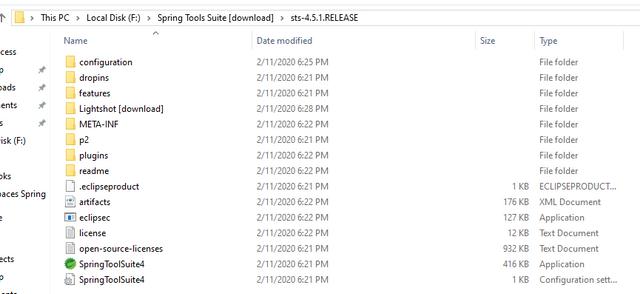 STS-install-folder
