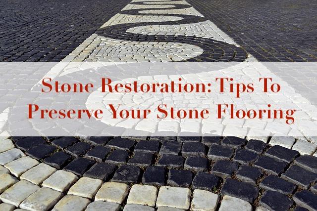 stone restoration cover image