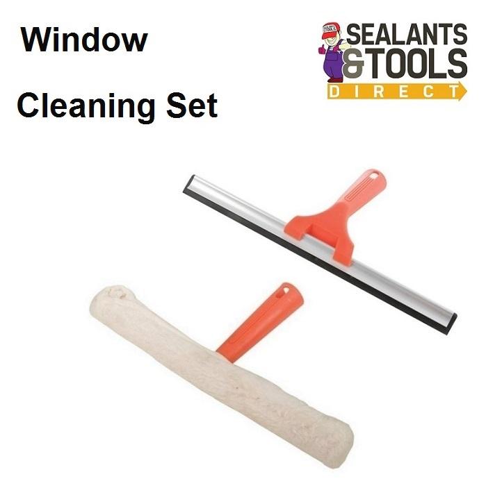 Silverline-Window-Washing-Scrubber-Squeegee-Set