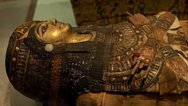 опасный экспонат Британского музея египетская мумия