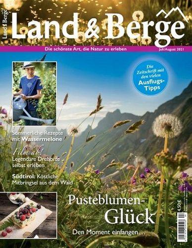 Cover: Land und Berge Magazin No 04 Juli-August 2021