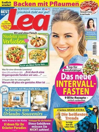 Cover: Lea Frauenmagazin No 34 vom 18  August 2021