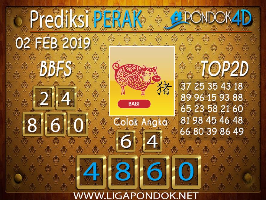 Prediksi Togel PERAK PONDOK4D 02 FEBRUARI 2019