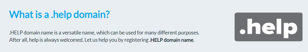 dot-help