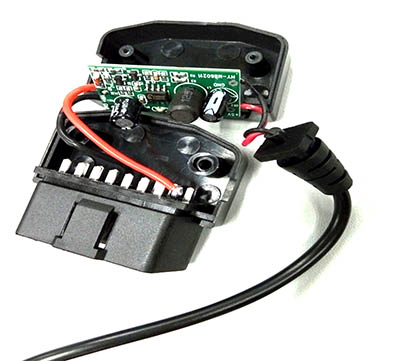 obd2 to DC Connector
