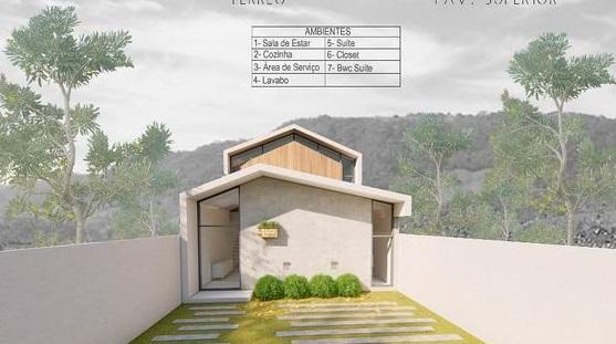 Rumah Minimalis dengan Bentuk Atap Dinamis