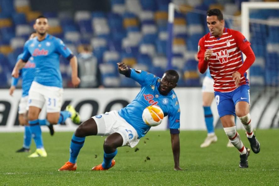 Europa League: Napoli eliminato dal Granada ai 16esimi di finale