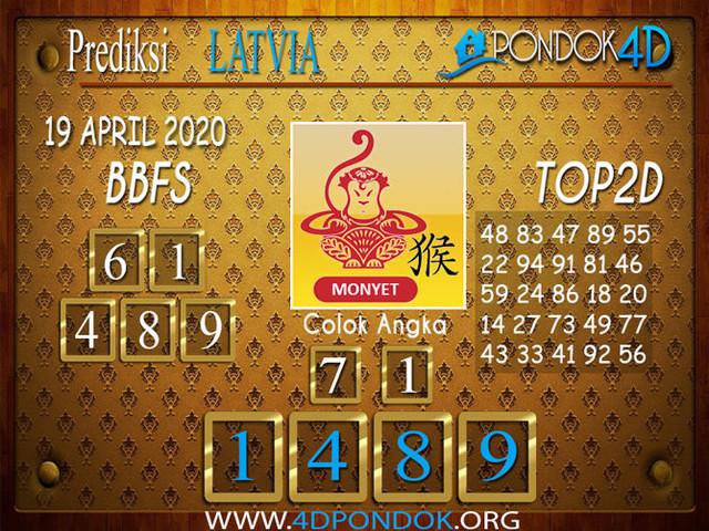 Prediksi Togel LATVIA POOLS PONDOK4D 19 APRIL 2020