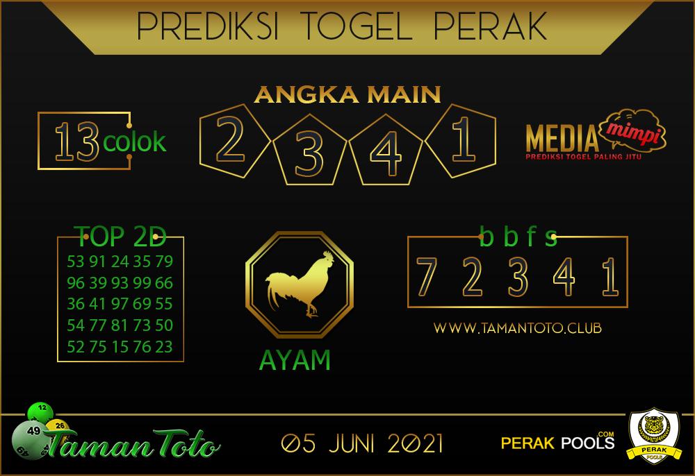 Prediksi Togel PERAK TAMAN TOTO 05 JUNI 2021