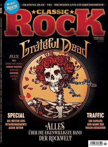 Cover: Classic Rock Magazin No 11 November 2021
