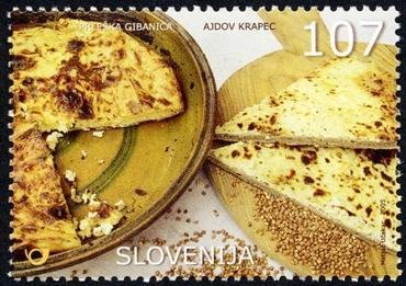 Slovenia stamps NATIONAL-DISH-2005-1