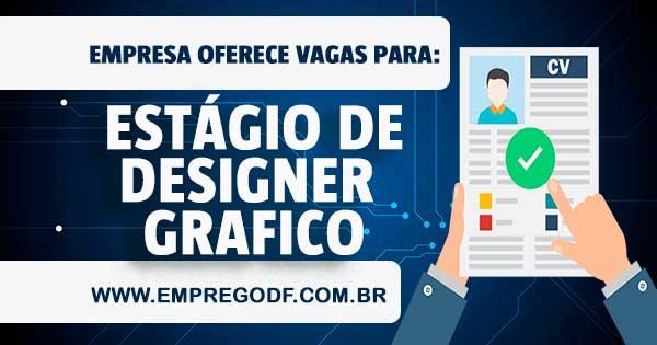 EMPREGO PARA ESTÁGIO DE DESIGN GRÁFICO