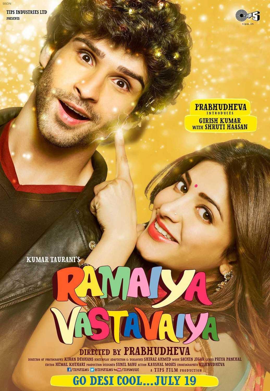 Ramaiya Vastavaiya (2013) Hindi 720p HDRip x264 AAC 1.3GB ESub