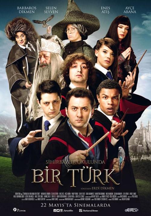 Sihirbazlık Okulunda Bir Türk | 2015 | Yerli Film | 720p | DVDRip | Upscale | Sansürsüz | 800 MB | Tek Link