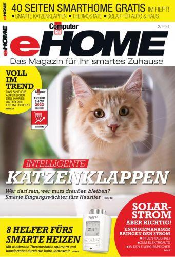 Cover: Computer Bild Sonderheft Magazin (eHome) No 02 2021