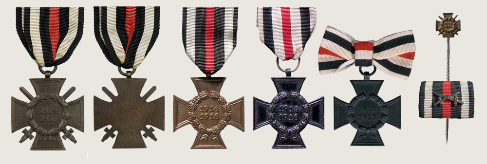 The Honour Cross of the World War
