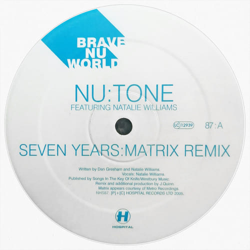 Download Nu:Tone - Seven Years Remix / Stay Strong mp3
