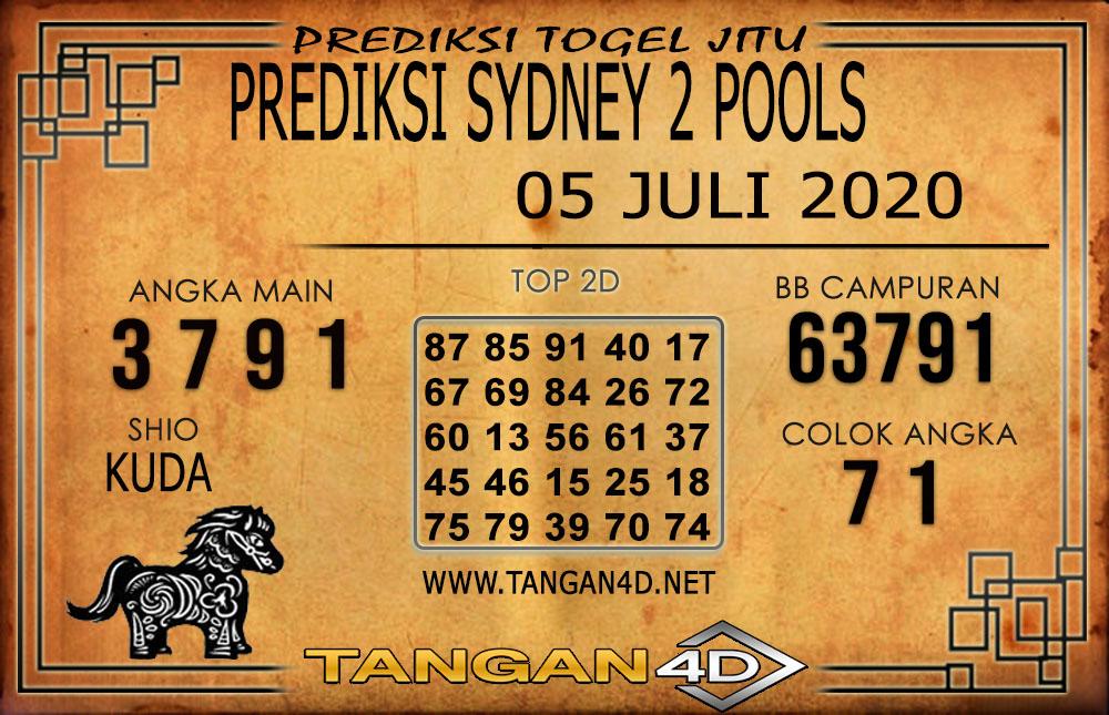 PREDIKSI TOGEL SYDNEY 2 TANGAN4D 05 JULI 2020