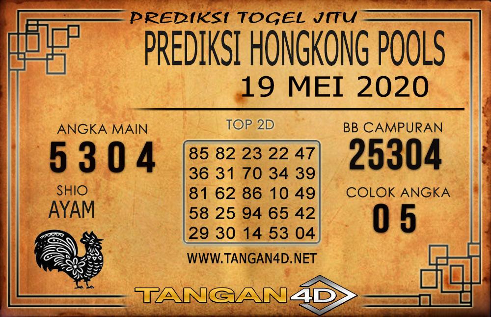 Prediksi Togel HONGKONG TANGAN4D 19 MEI 2020