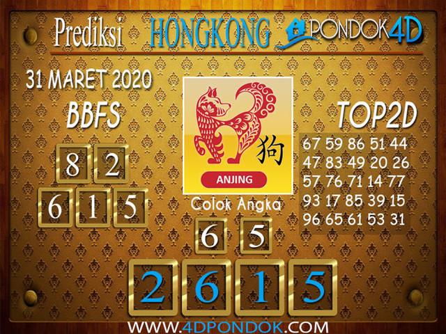 Prediksi Togel HONGKONG PONDOK4D 31 MARET 2020
