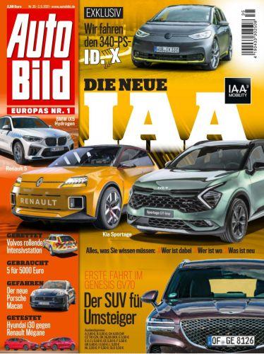 Cover: Auto Bild Magazin No 35 vom 02  September 2021
