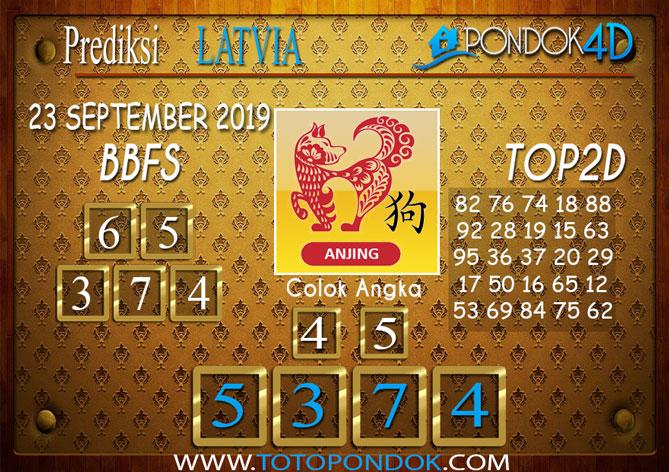 Prediksi Togel LATVIA POOLS PONDOK4D 23 SEPTEMBER 2019