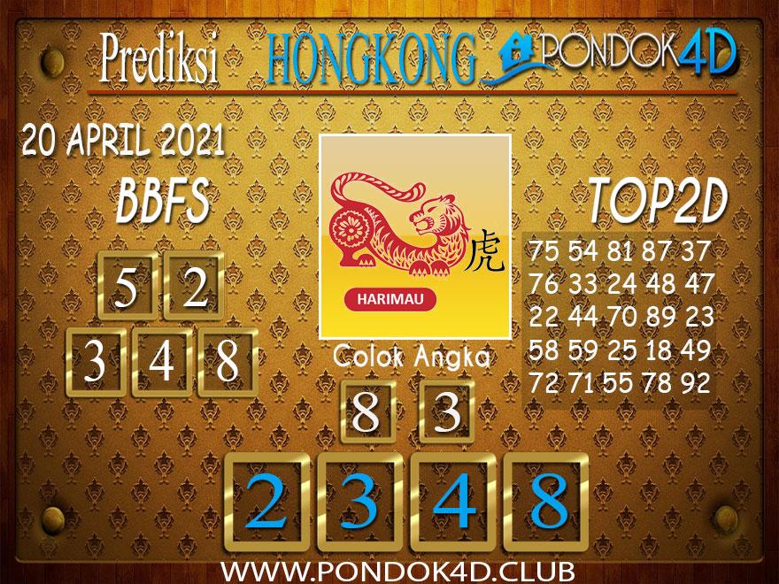 Prediksi Togel HONGKONG PONDOK4D 20 APRIL 2021