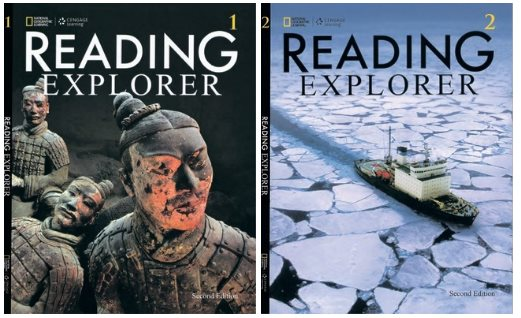 Reading Explorer 1,2 (SB+Audio) - National Geographic Learning