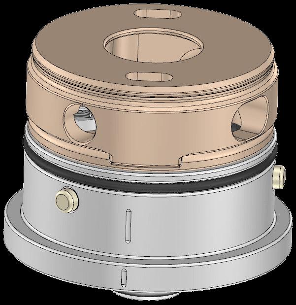 Montaggio anello atomizzatore