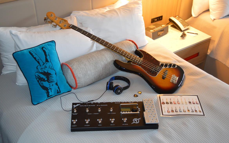 Universal Orlando Hard Rock Hotel guitar rental