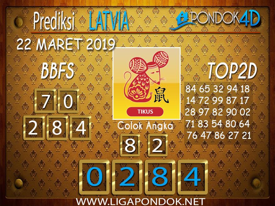 Prediksi Togel LATVIA PONDOK4D 22 MARET 2019