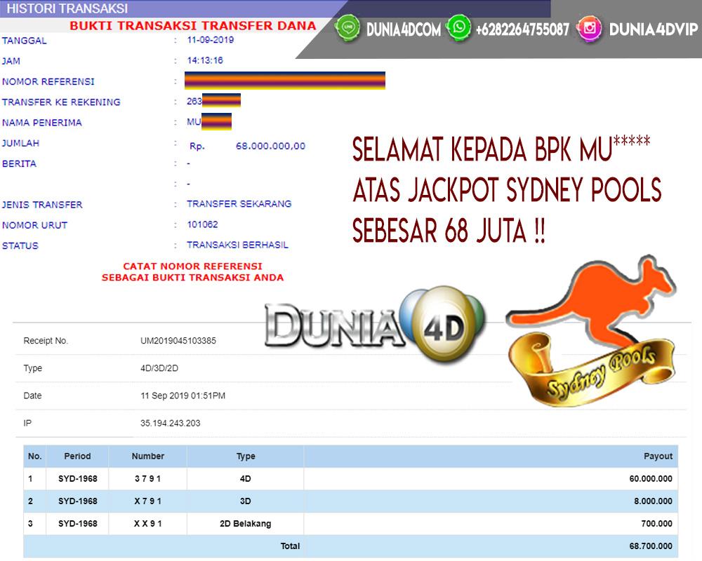 HANYA DI DUNIA4D JACKPOT BERAPAPUN LANGSUNG DIBAYAR!!
