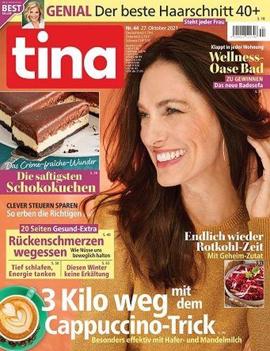 Tina Frauenmagazin No 44 vom 27  Oktober 2021