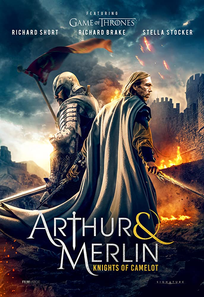 Arthur & Merlin: Knights of Camelot 2020 English 720p HDRip 800MB Download