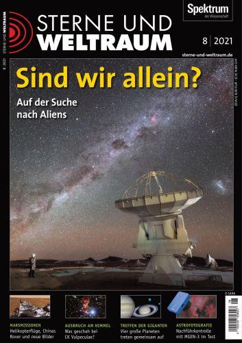 Cover: Spektrum der Wissenchaft Sterne und Weltraum No 08 2021