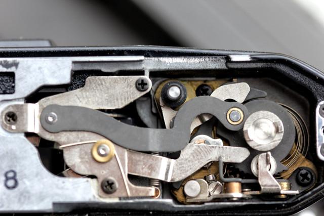 pentax-me-super-shutter-wont-latch-bottom-plate-removed