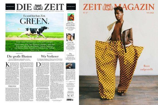 Cover: Die Zeit mit Zeit Magazin No 37 vom 09  September 2021