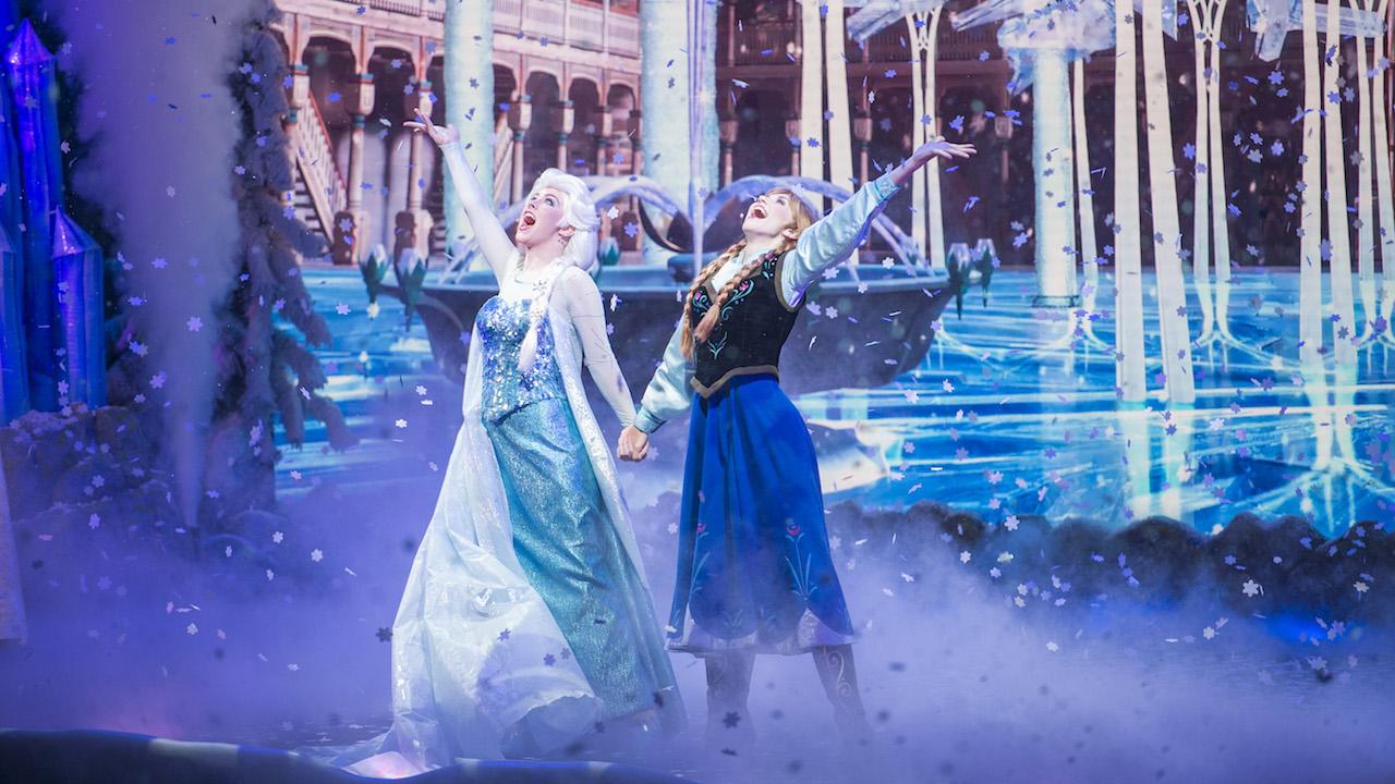 Frozen Sing-Along at Walt Disney World