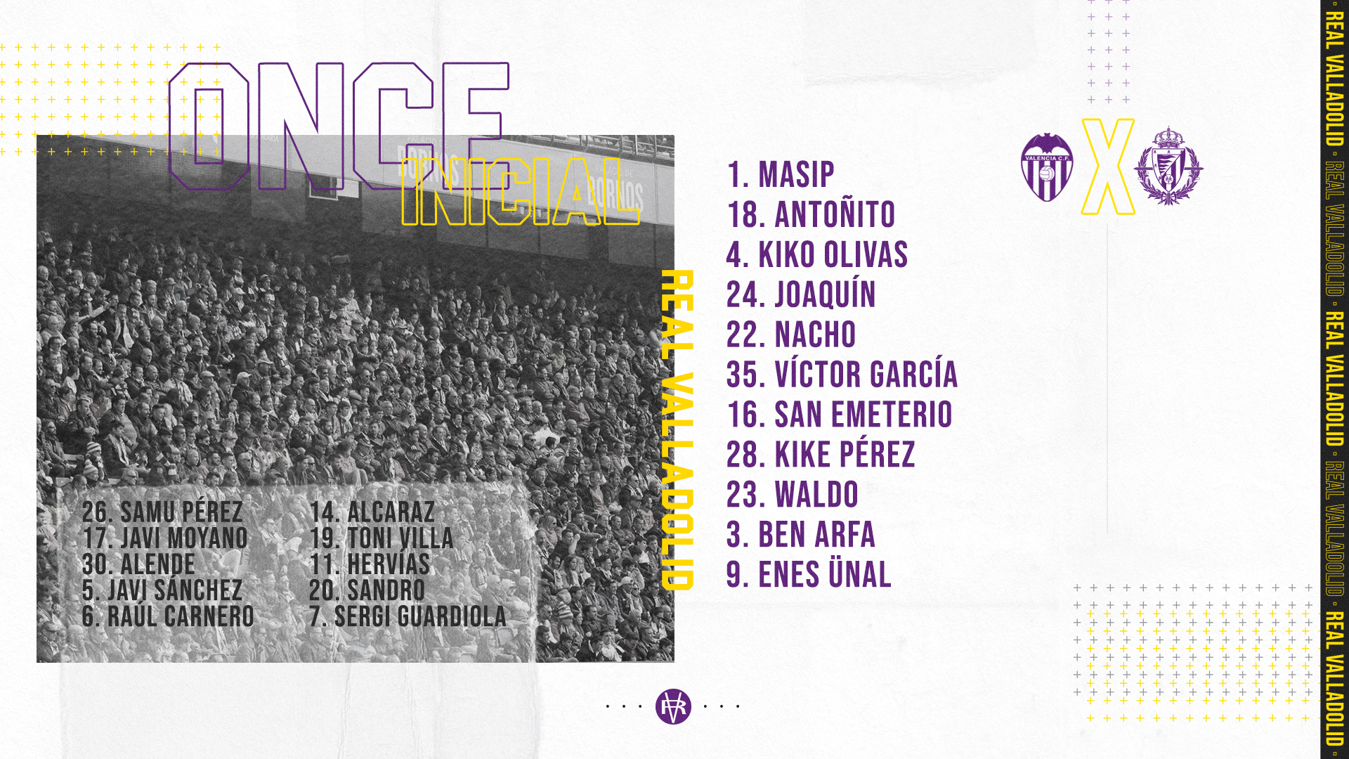 Valencia C.F. - Real Valladolid C.F. Martes 7 de Julio. 19:30 20200707-182600
