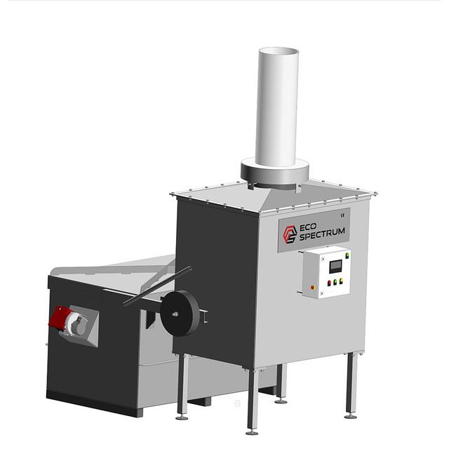 Инсинератор VOLKAN 500 - Автоматизация процессов эксплуатации