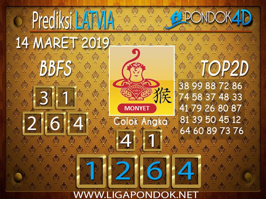 Prediksi Togel LATVIA PONDOK4D 14 MARET 2019