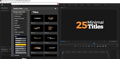 Videohive - Montage Graphic Pack / Titles / Transitions / Lower Thirds and more - 23449895