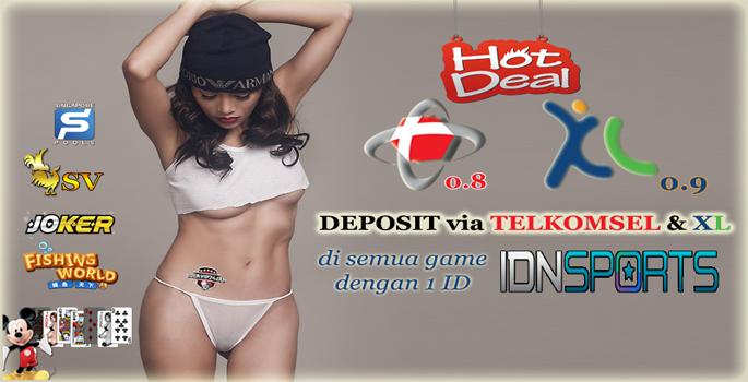 Deposit Pulsa HP