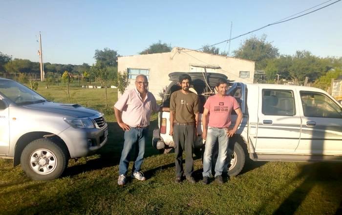La Municipalidad de Villaguay colabora con importantes mejoras para el área rural a través de la Red 127