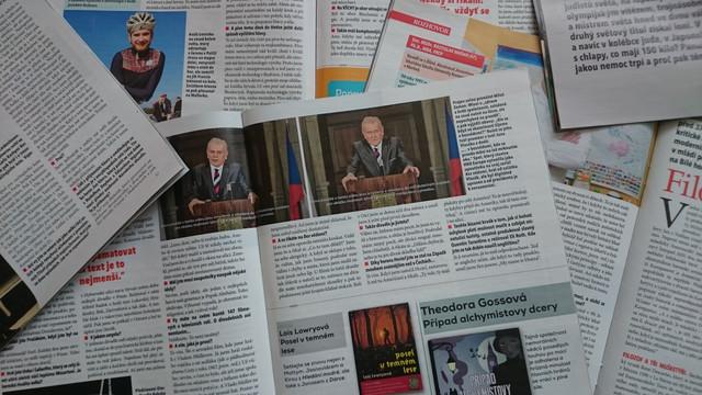 Týdeník Téma. Foto: Eva Matějková