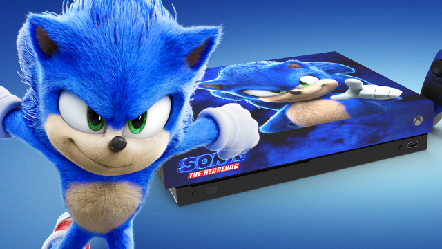 Sonic The Hedgehog Get In With A Chance To Win An Official Xbox One X Console Based On The Video Game Movie