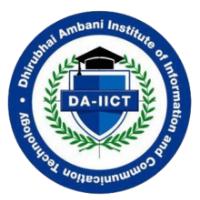 Dhirubhai Ambani Institute of Information and Communication Technology [GTU]