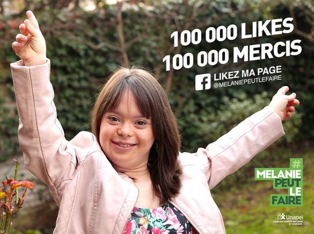 #Mélaniepeutlefaire pour l'UNAPEI