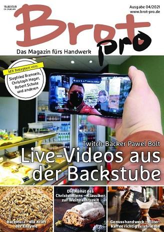 Cover: Brot pro Magazin No 04 2021