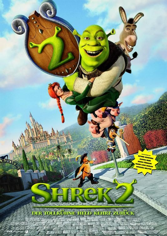 Shrek 2 2004 Hindi Dual Audio 480p BluRay 300MB Download